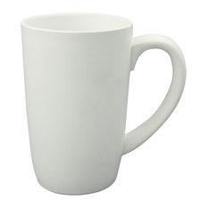 Tall Mugs Matte, 18oz, Set of 4, White