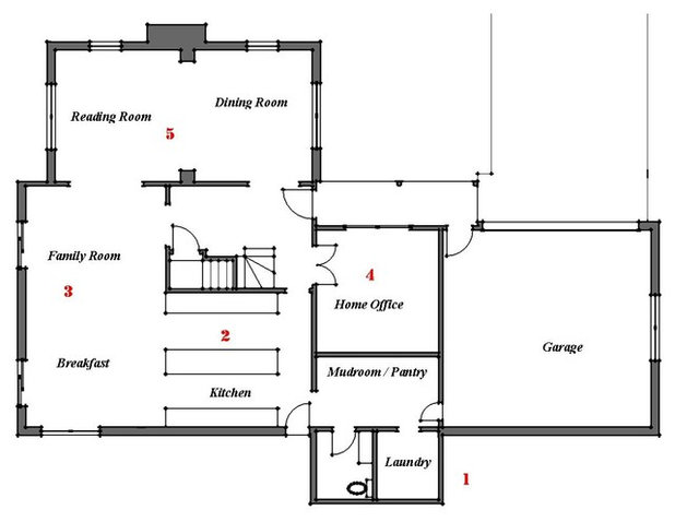 Family Room Floor Plan rhodes hotel superior family floor plan Floor Plan By Bud Dietrich Aia
