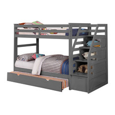 50 Most Popular Bunk Beds With Stairs For 2021 Houzz