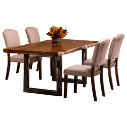 Transitional Dining Sets by Furniture East Inc.