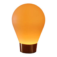Illuminated Wireless Bulb Floor Lamp