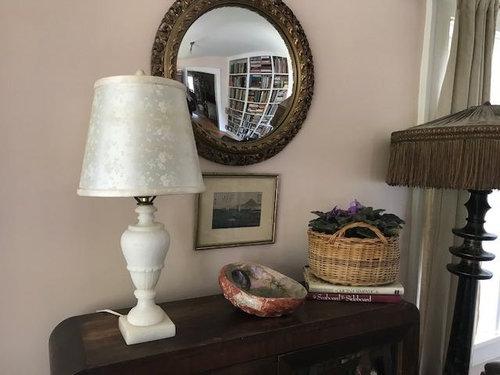 Alabaster Lamp Two