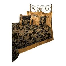 Sherry Kline China Art Black 6-piece Comforter Set