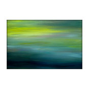 Large Original Seascape Abstract Canvas Contemporary/Modern Painting by Gina Per