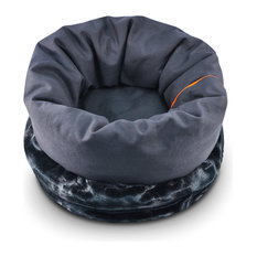 Snuggle Bed, Charcoal Gray, Small