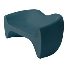 Goby Love Seat, Midnight Blue