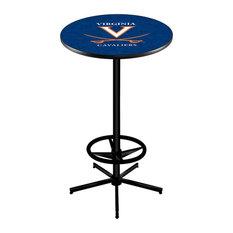 L216 - 42-inch Black Virginia Pub Table by Holland Bar Stool Co. by Holland Bar Stool Company
