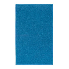 Superior Nance Industries   OurSpace Bright Area Rug, Royal Sky Blue, 8u0027x10u0027