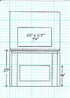 fireplace mantel height. Black Bedroom Furniture Sets. Home Design Ideas