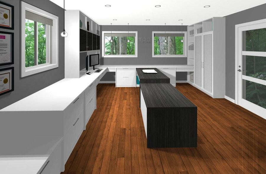 Interior Designer's HOME OFFICE