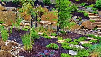 Akiko's Asian Rain Garden