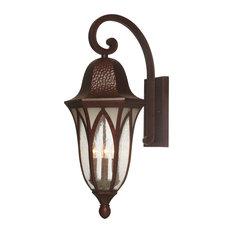 "Berkshire 11"" Wall Lantern, Burnished Antique Copper"