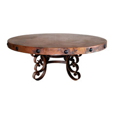 copper coffee tables | houzz