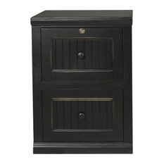 ... Coastal 2-Drawer File Cabinet, Caribbean Rum - Filing Cabinets