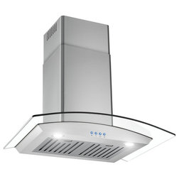 Contemporary Range Hoods And Vents by Houzz