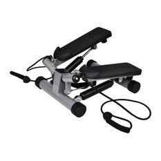 vidaXL Swing Stepper Twist Stepper w/ Rope Exercise Fitness Sporting Gym Sport