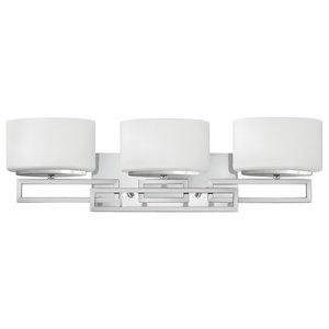 Lanza Contemporary 3-Light Bathroom Wall Light