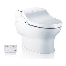 Bio Bidet IB835 Fully Integrated Bidet Toilet System, White