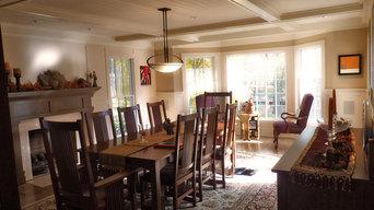 Craftsman Style Dining Room