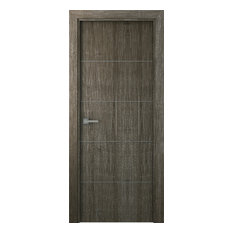 Doordesignlab Palladio 4h Gray Oak 80 Door Slab 36 X80