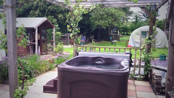 Hot Tubs in Gardens