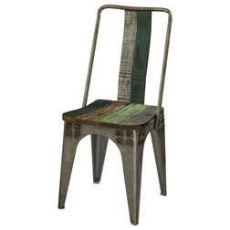 Industrial Dining Chairs by GwG Outlet