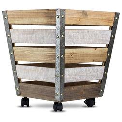 Farmhouse Storage Bins And Boxes by American Art Decor, Inc.