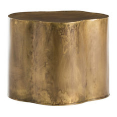 Lowry Side Table, Gold