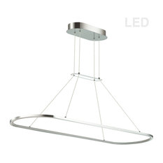Daytona 1-Light Pendant in Polished Chrome