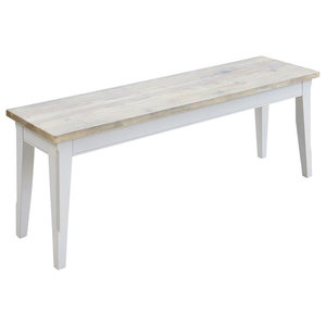 Baumhaus Signature Grey Dining Bench, 130 cm