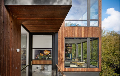 Houzz Tour: A Hard-to-Find Door Just Adds to the Experience