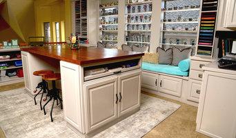 Craft Room Organization and Custom Design