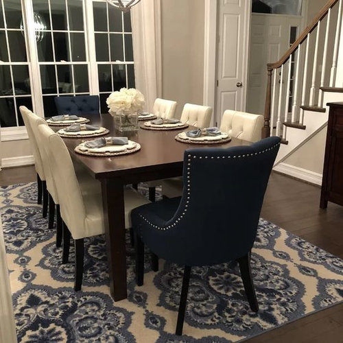Mixing Dining Chairs, Dining Room End Chairs