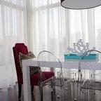 Eclectic Colorful Loft Eclectic Living Room St Louis