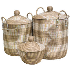 Tropical Storage Baskets by Dassie Artisan
