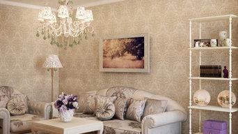 Дизайн проект однокомнатной квартиры.48, 8 кв.м г .Киев