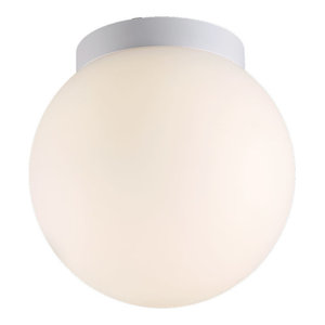 """WAC Lighting FM-W52309 Niveous 9"""" Wide Integrated LED Outdoor Flush Mount Globe"""