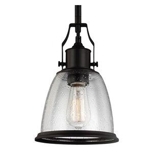 Feiss Lighting P1354ORB Hobson Mini Pendant Light, Oil Rubbed Bronze