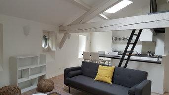Appartement sous comble réhabilité et réaménagé - 60m2
