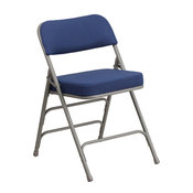 Navy Fabric Folding Chair AW-MC320AF-NVY-GG