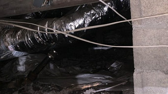 Crawlspace remediation and transformation