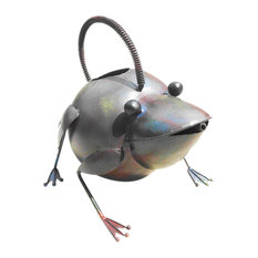 Iron Frog Watering Can
