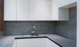 New German true handleless kitchen