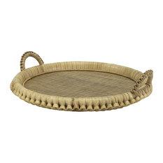Palecek Kenis Round Tray