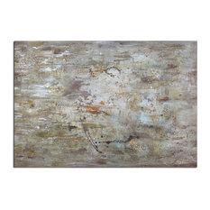 "Uttermost ""Middle"" Abstract Art, 70""x48"""