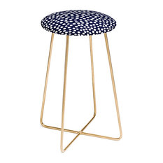 Deny Designs Rachael Taylor Urban Dot Midnight Counter Stool