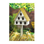 Cape Cod Bird Condo Birdhouse