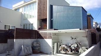 省スペースバイクガレージ motoCUBIC
