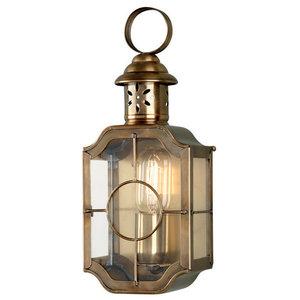 Kennington Wall Lantern, Brass