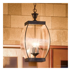 Luxury Colonial Bronze Outdoor Pendant Light, UQL1176, Manchester Collection